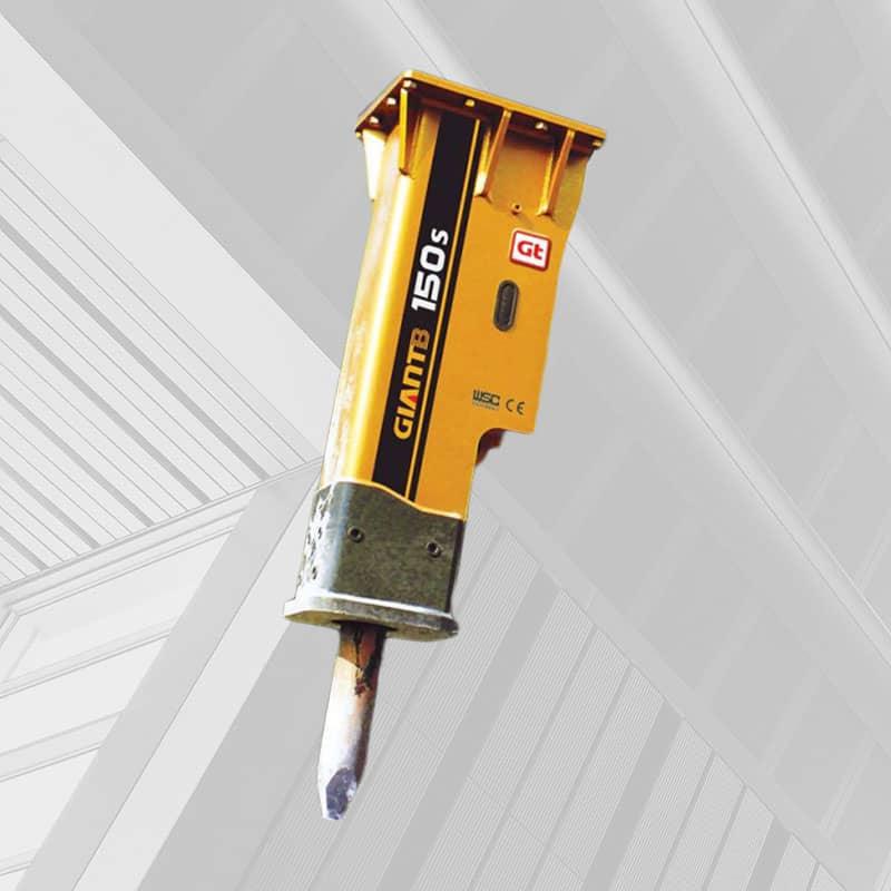 hydraulic stud hammer
